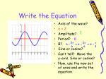 write the equation2