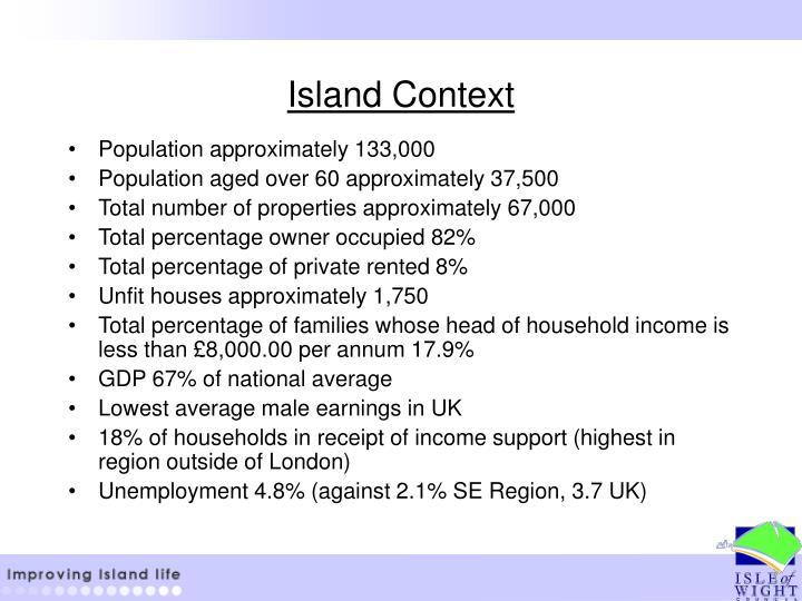 Island Context
