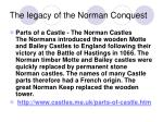 the legacy of the norman conquest