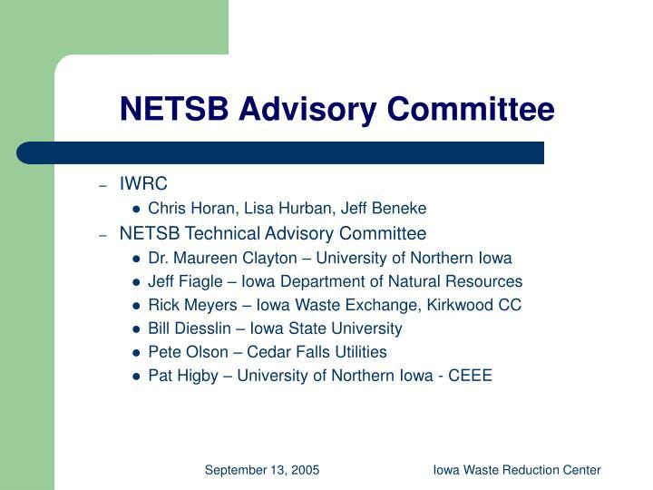 NETSB Advisory Committee