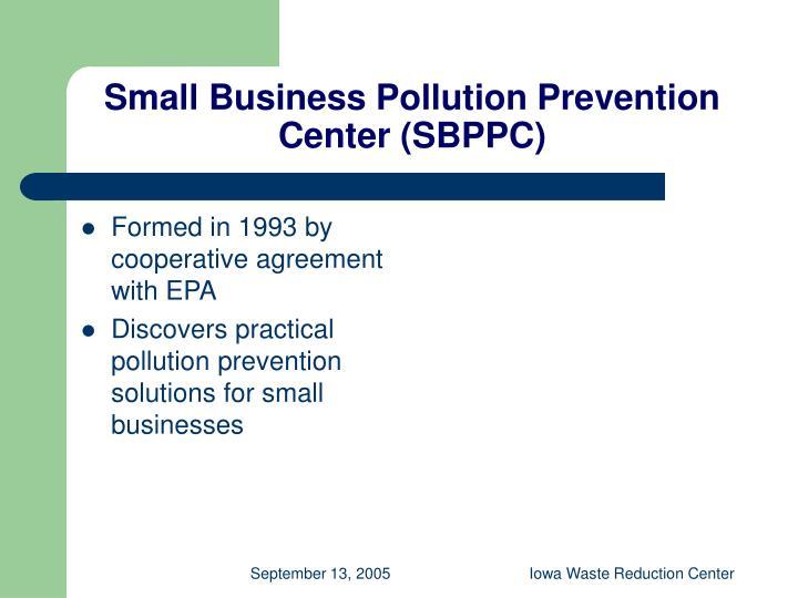 Small Business Pollution Prevention Center (SBPPC)