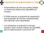 capacitaci n de programadores en kigali