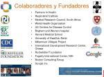 colaboradores y fundadores