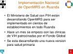 implementaci n nacional de openmrs en ruanda