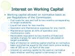 interest on working capital1