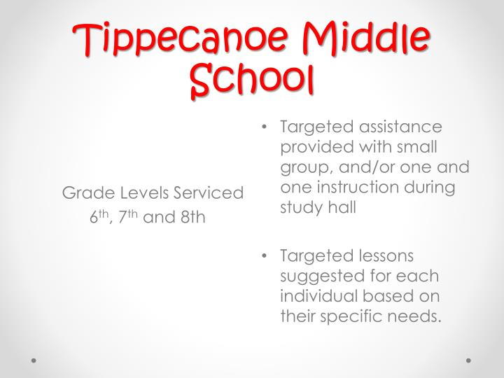 Tippecanoe Middle School