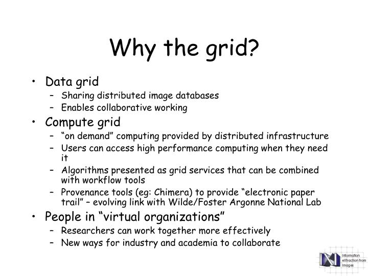 Why the grid?