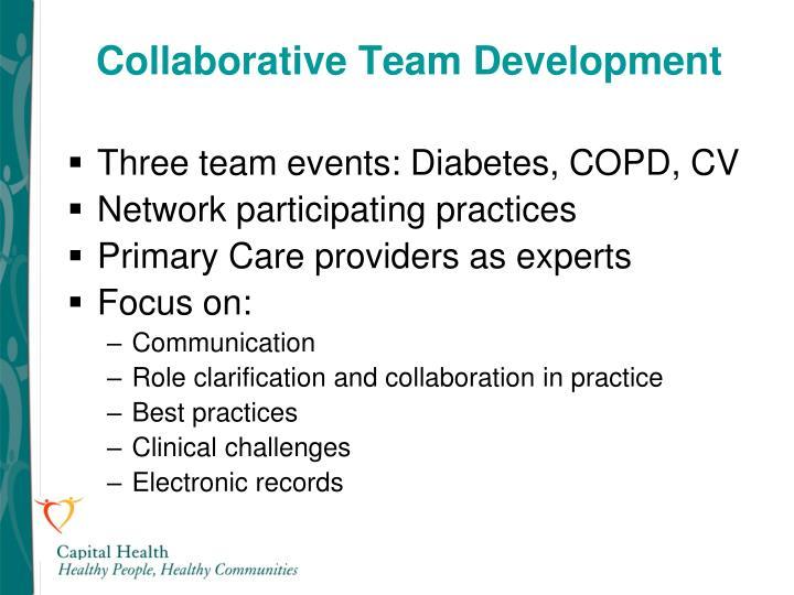 Collaborative Team Development