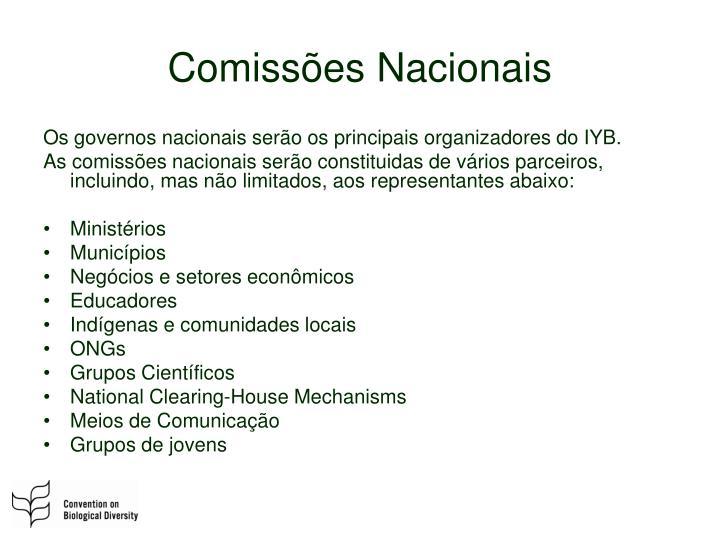 Comissões Nacionais
