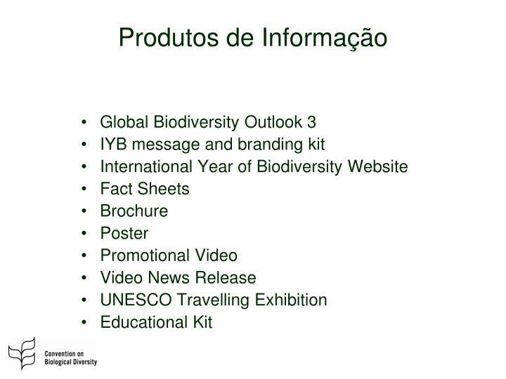 Produtos de Informação