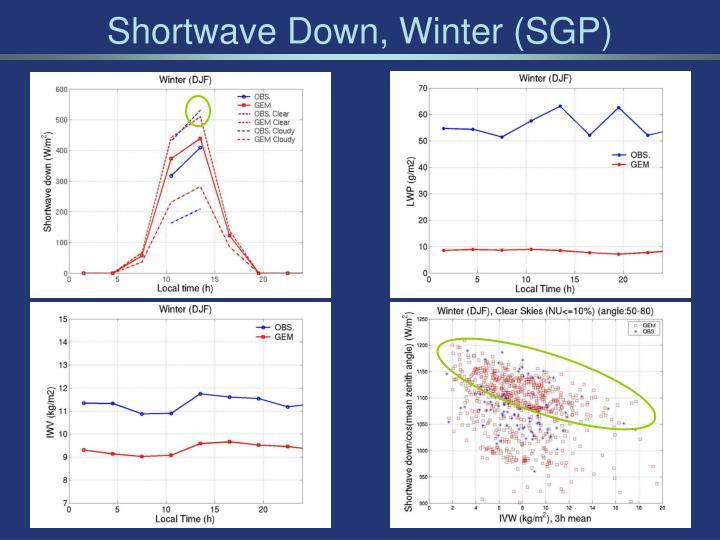 Shortwave Down, Winter (SGP)