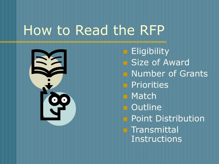How to Read the RFP