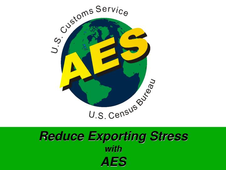 Reduce Exporting Stress