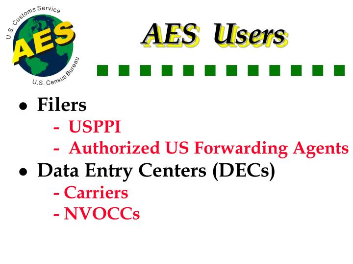 AES  Users