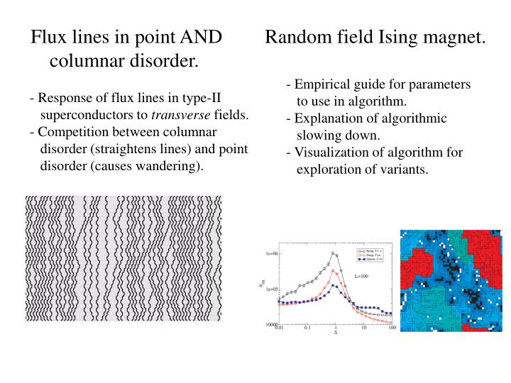Flux lines in point AND columnar disorder.