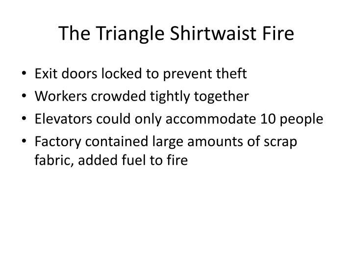 The Triangle Shirtwaist Fire