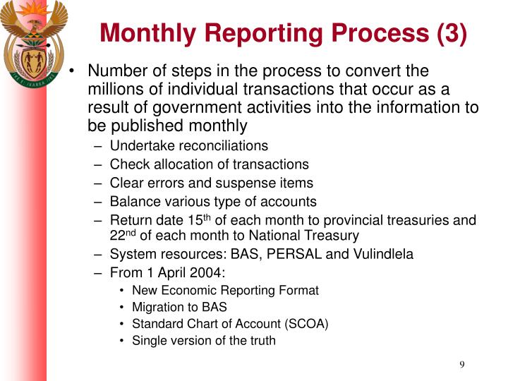 Monthly Reporting Process (3)