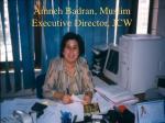amneh badran muslim executive director jcw