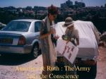 annalien ruth the army jails the conscience