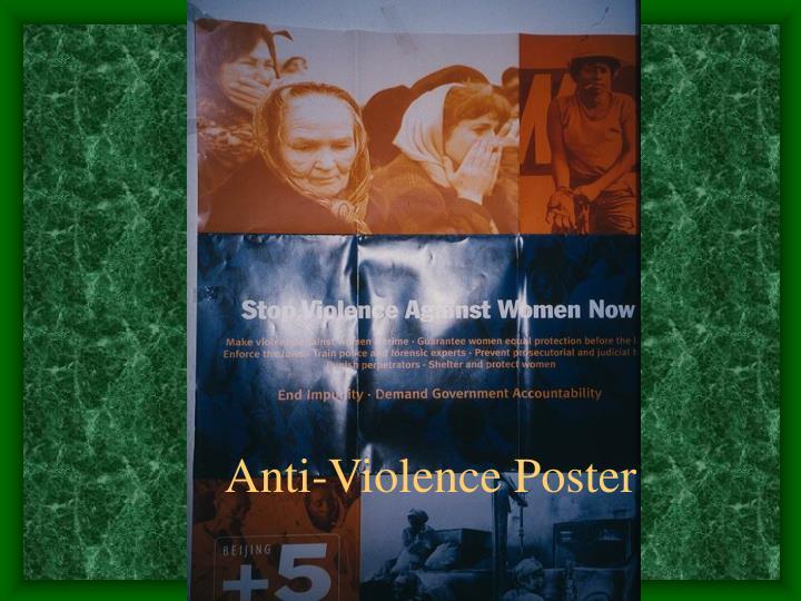 Anti-Violence Poster