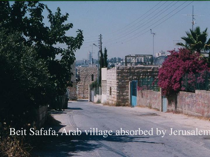 Beit Safafa