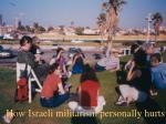 how israeli militarism personally hurts