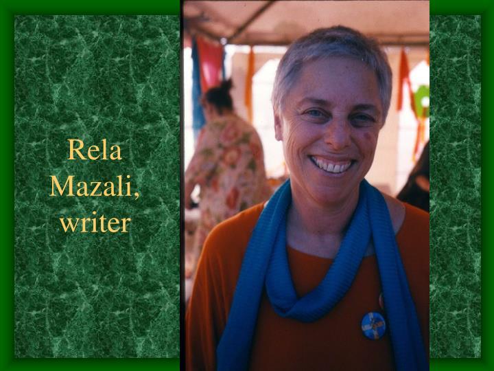 Rela Mazali,
