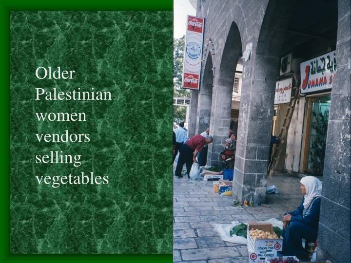 Older Palestinian