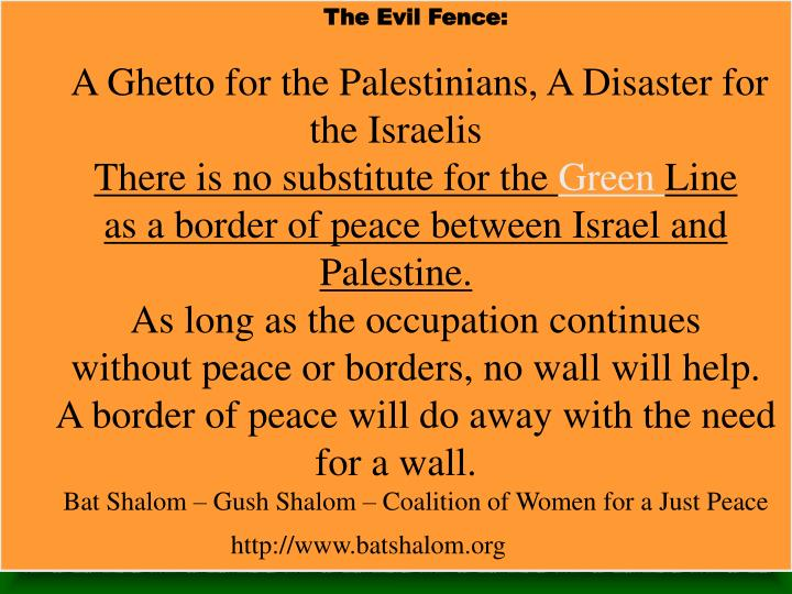The Evil Fence:
