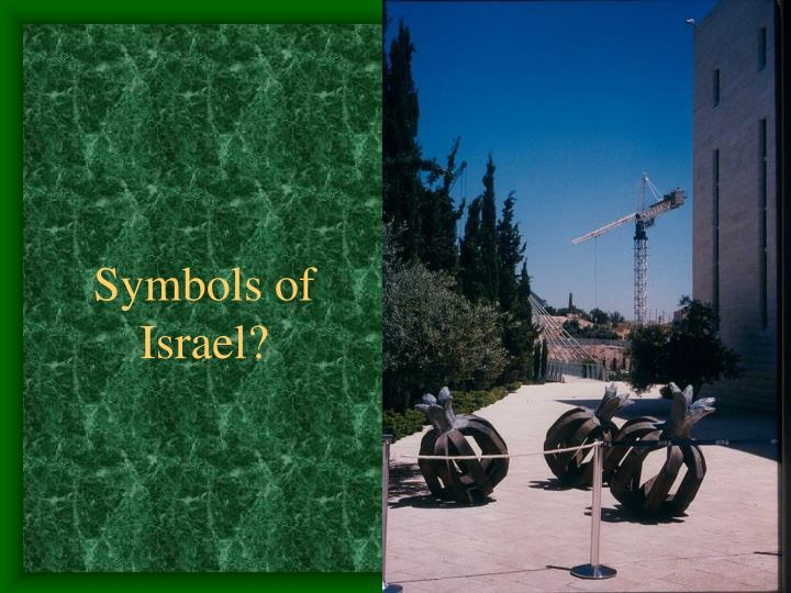 Symbols of Israel?