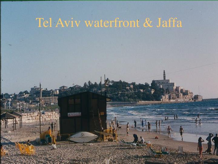 Tel Aviv waterfront & Jaffa