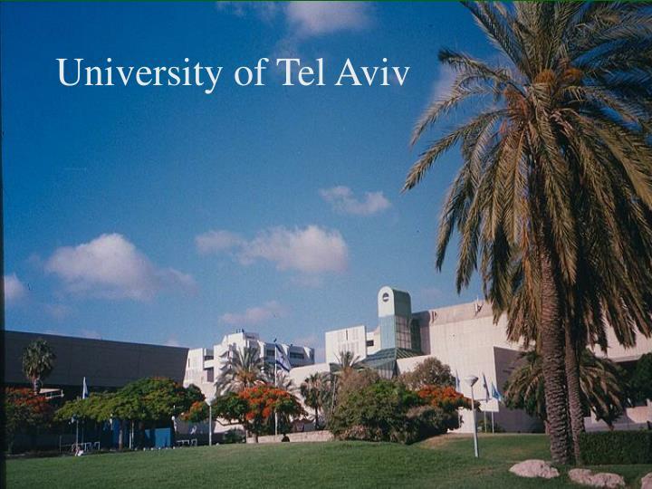 University of Tel Aviv