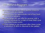 ivf refund program