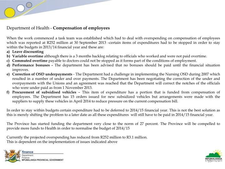 Department of Health -