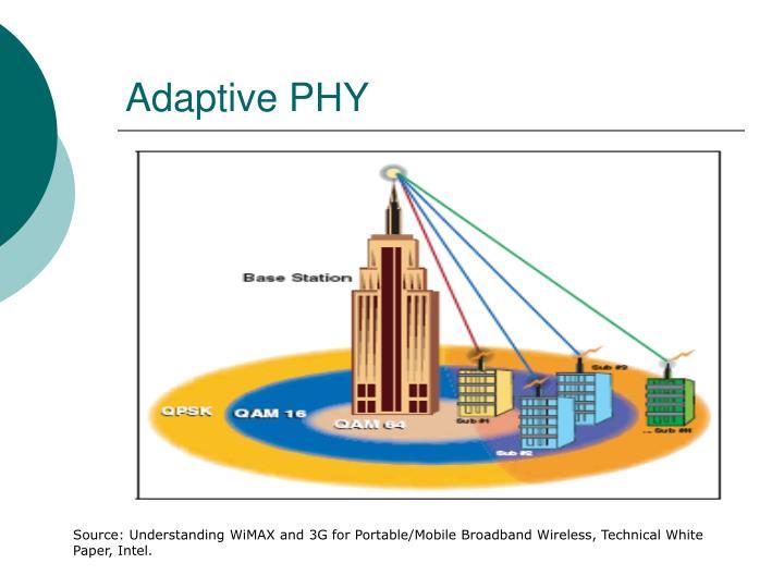 Adaptive PHY