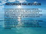 recursos halieuticos