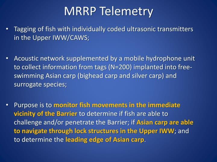 MRRP Telemetry