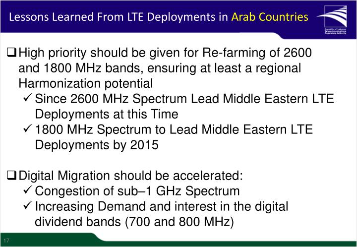 Lessons Learned From LTE Deployments in
