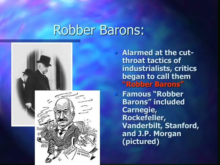 Robber Barons: