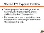 section 179 expense election1