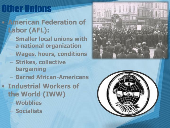 Other Unions