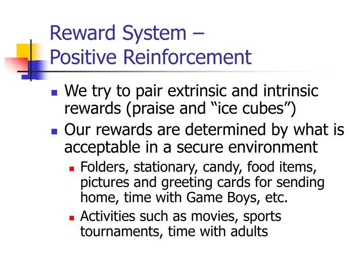 Reward System –