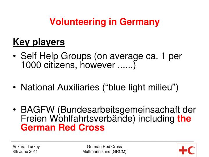 Volunteering in Germany