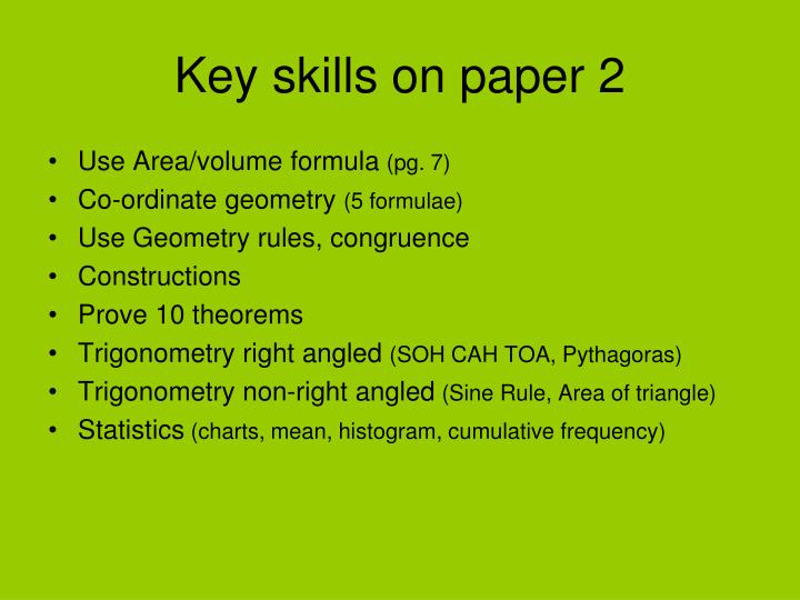 Use Area/volume formula