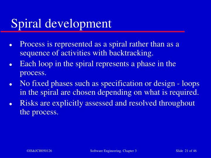 Spiral development