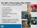 the un s 7 point action plan 7pap