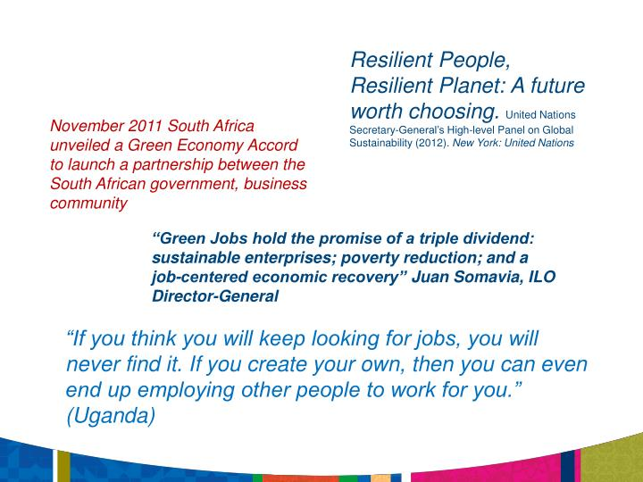 Resilient People,