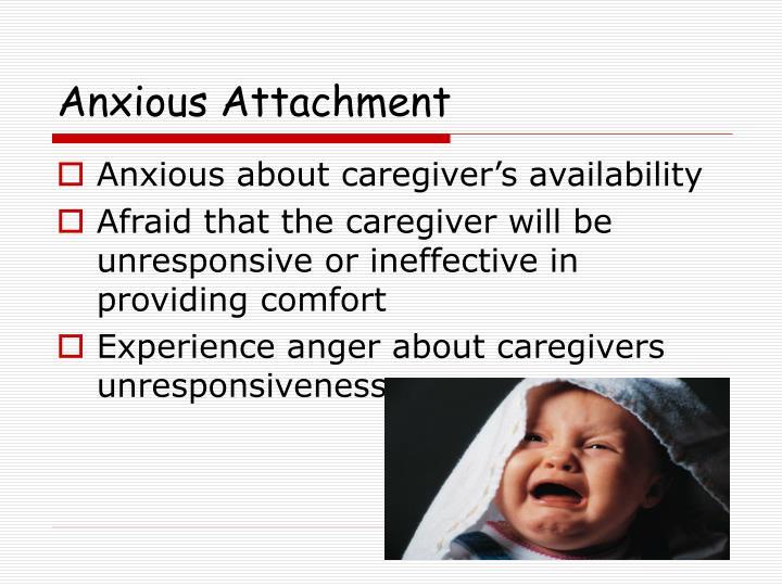 Anxious Attachment