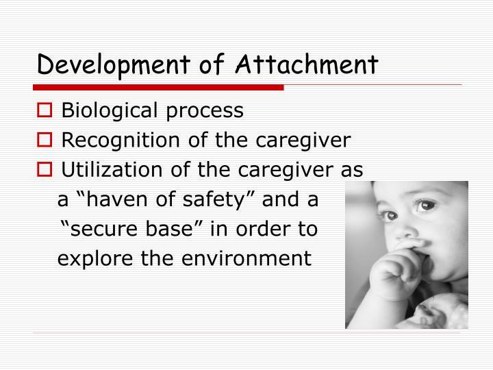 Development of Attachment