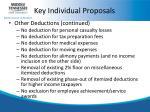 key individual proposals6